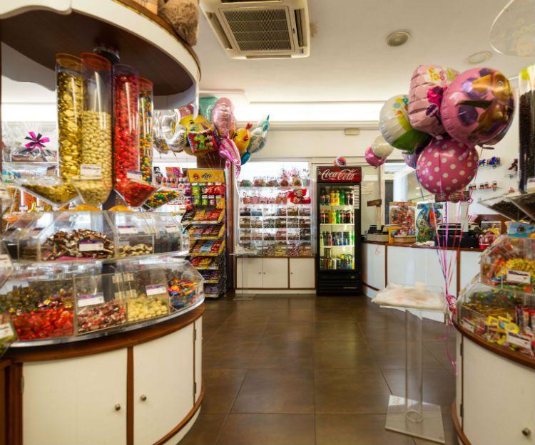 Bombones y caramelos en Lanzarote