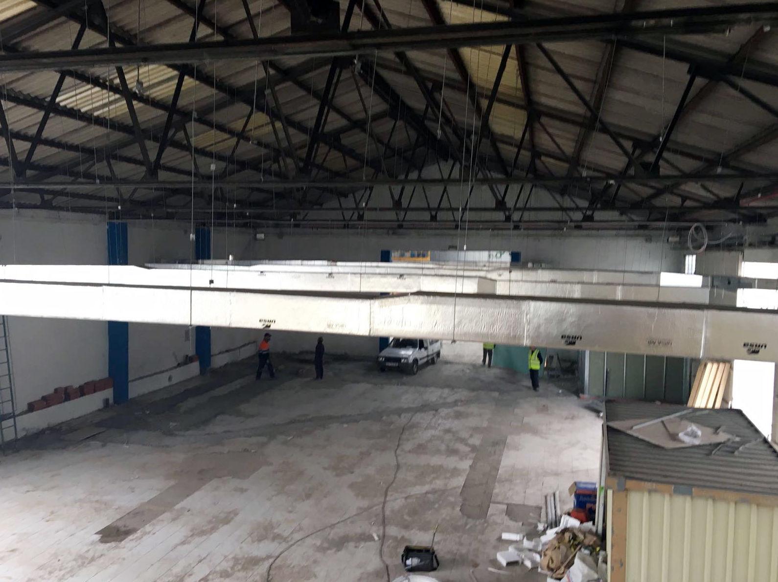 Conductos industriales de aire acondicionado en Valladolid