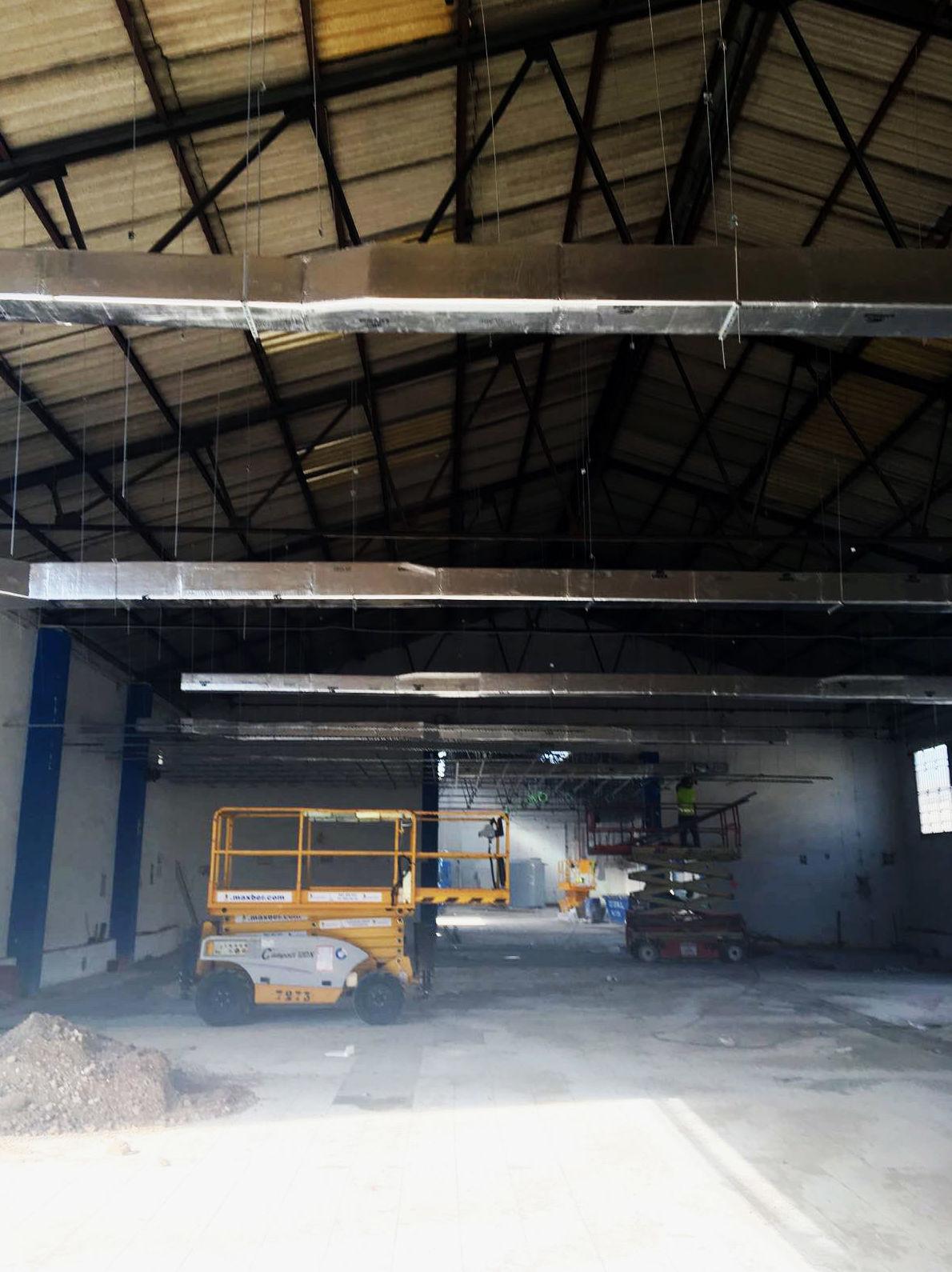 Conductos de ventilación en naves industriales en Valladolid