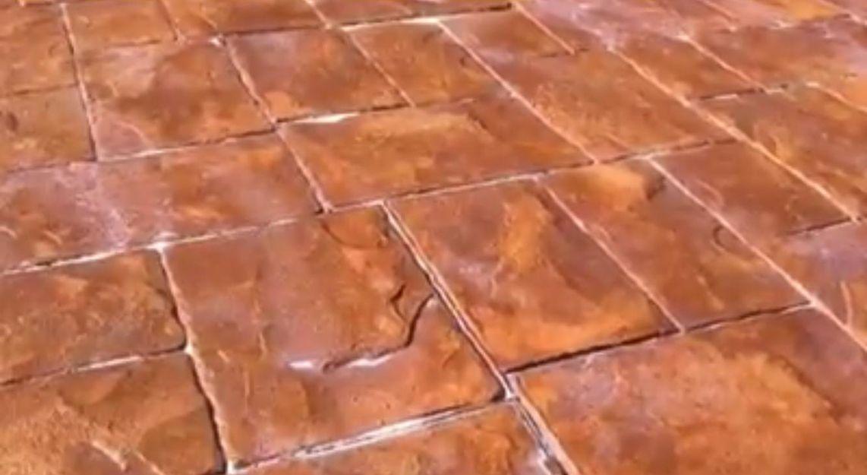 Pavimentos de hormigón impreso y pulido en Ibiza