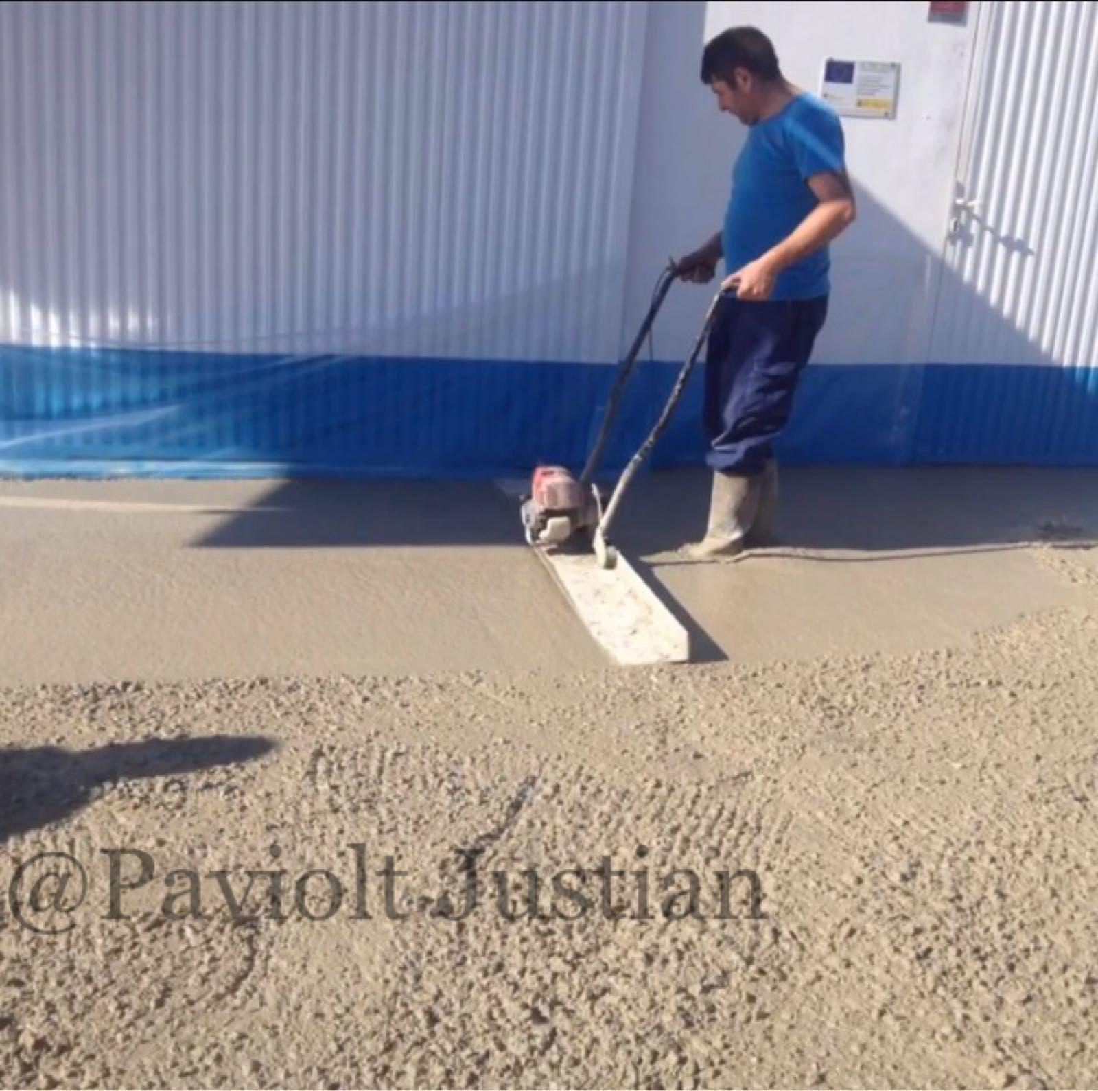 Preparación de suelos para hormigón