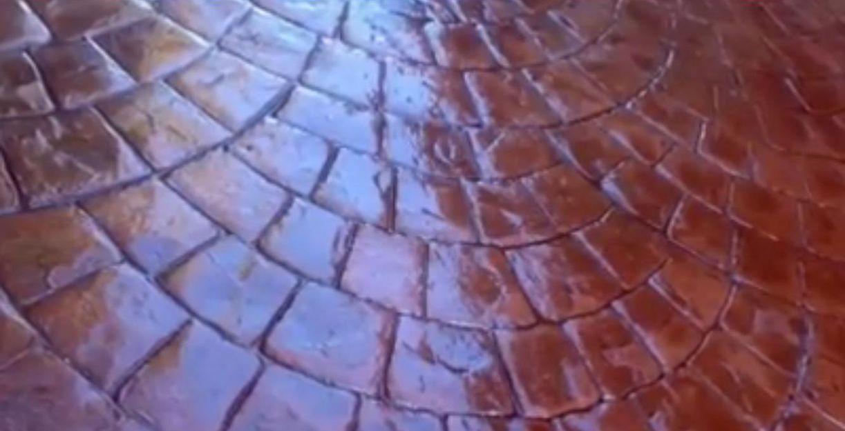 Pavimentos de hormigón impreso en Ibiza
