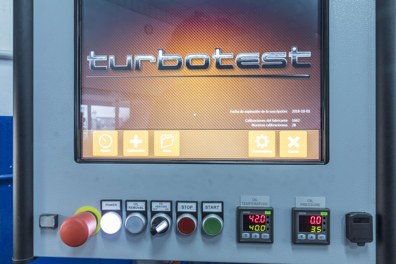 Taller de reconstrucción de turbos en Murcia