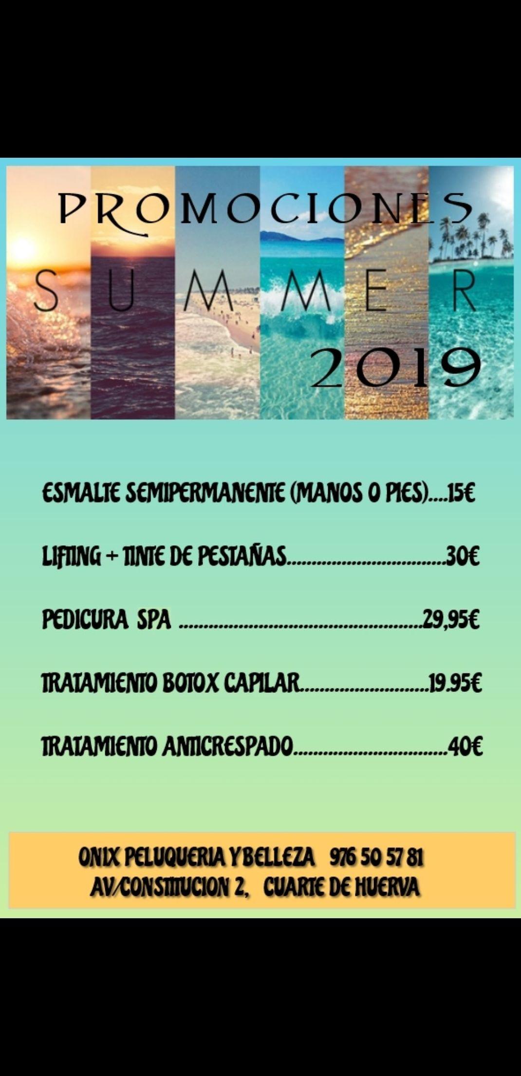 Promociones de verano