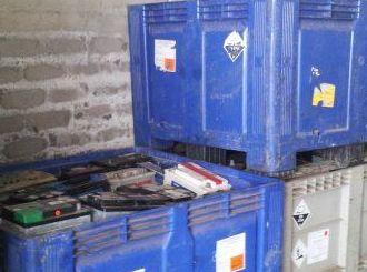 Compra de baterías usadas