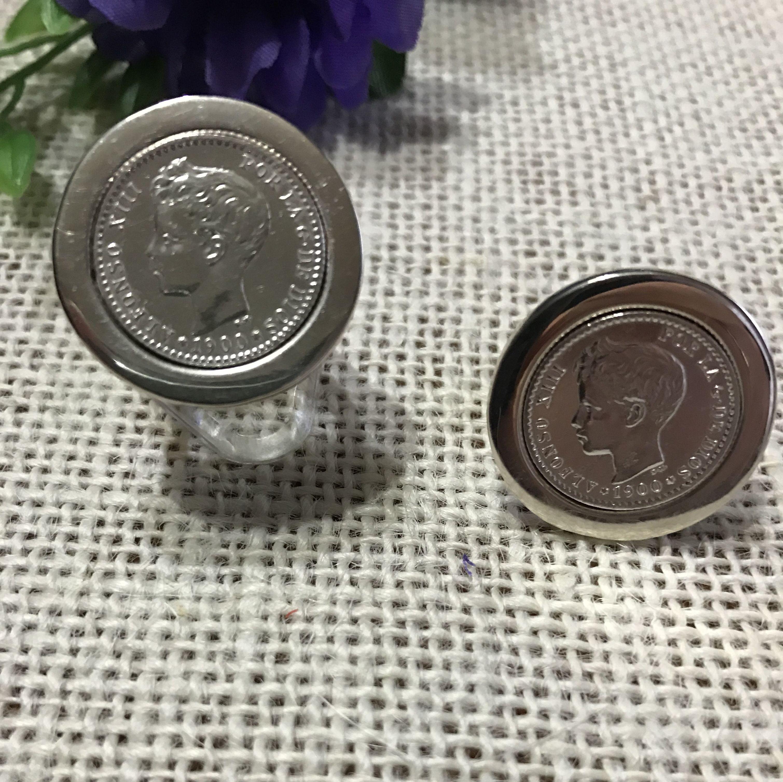 Anillo con Moneda: Productos y servicios de Mil990 Taller de Joyas Personalizadas