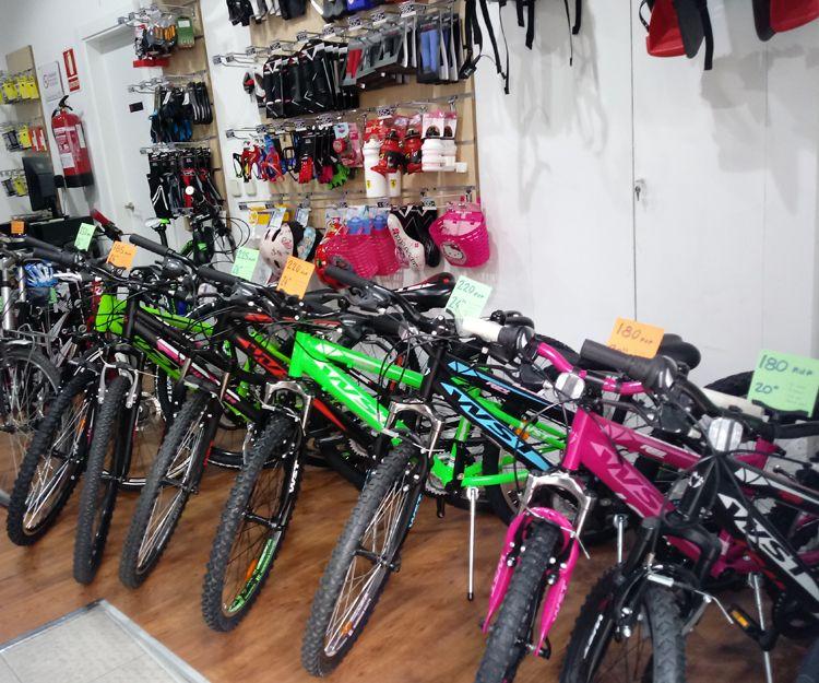 Bicicletas para todos los niveles y edades