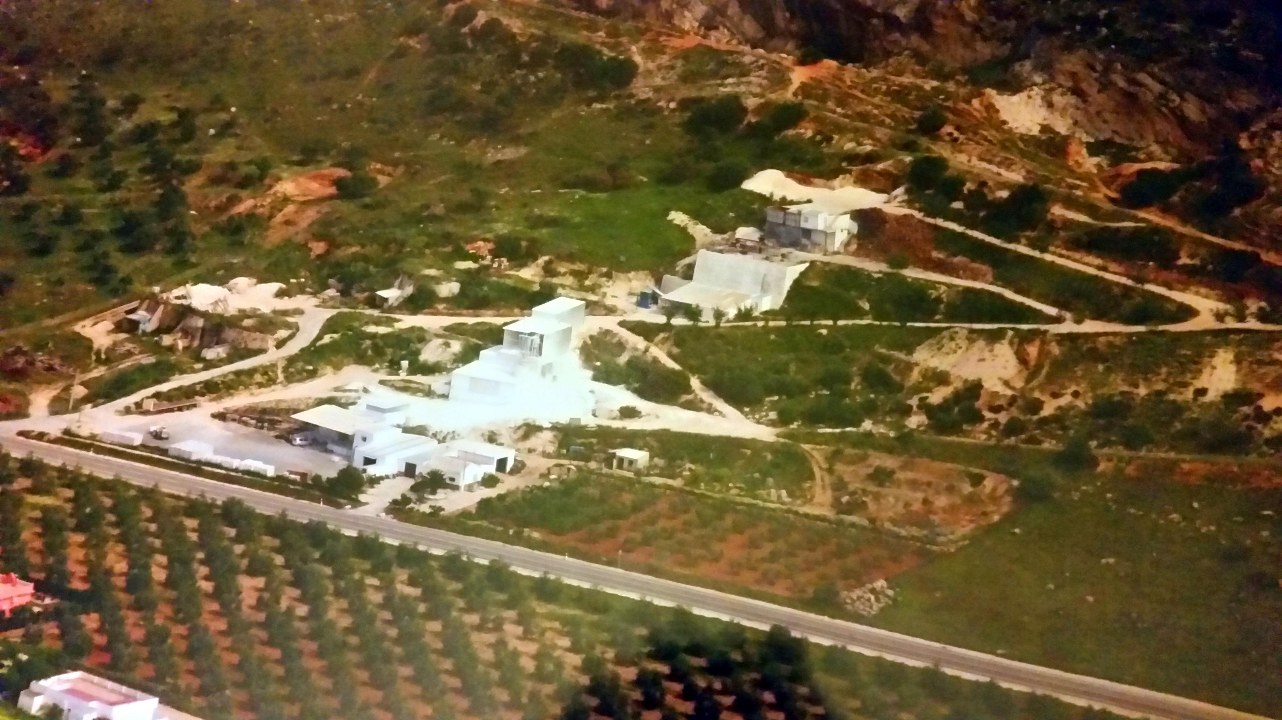Instalaciones de Cales del Sur en Morón de la Frontera