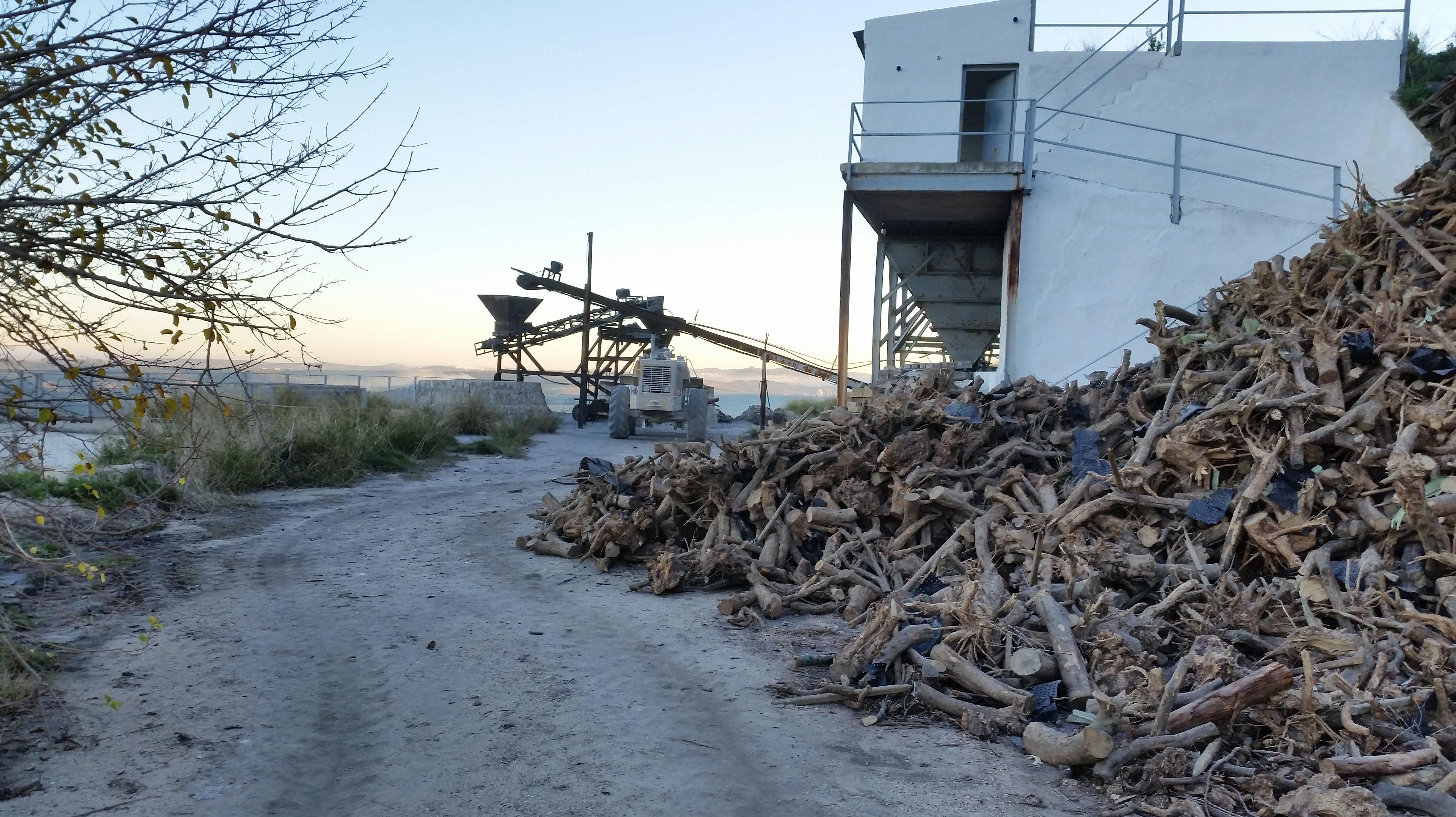 Producción ecológica de cal viva en hornos de leña