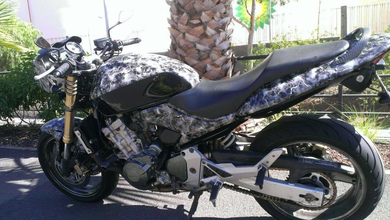 Pintura de motos en Tenerife