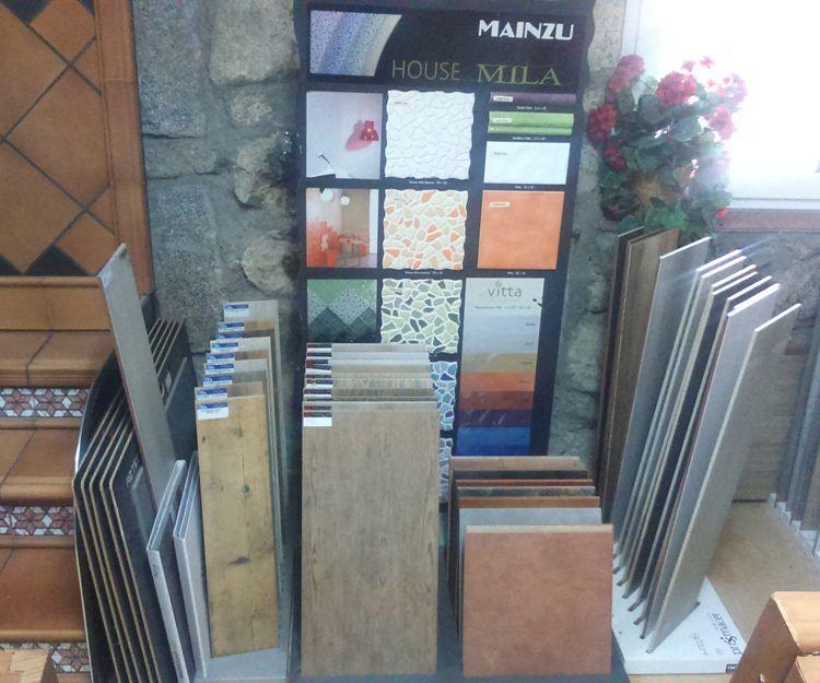 Exposición de azulejos cerámicos en Ávila