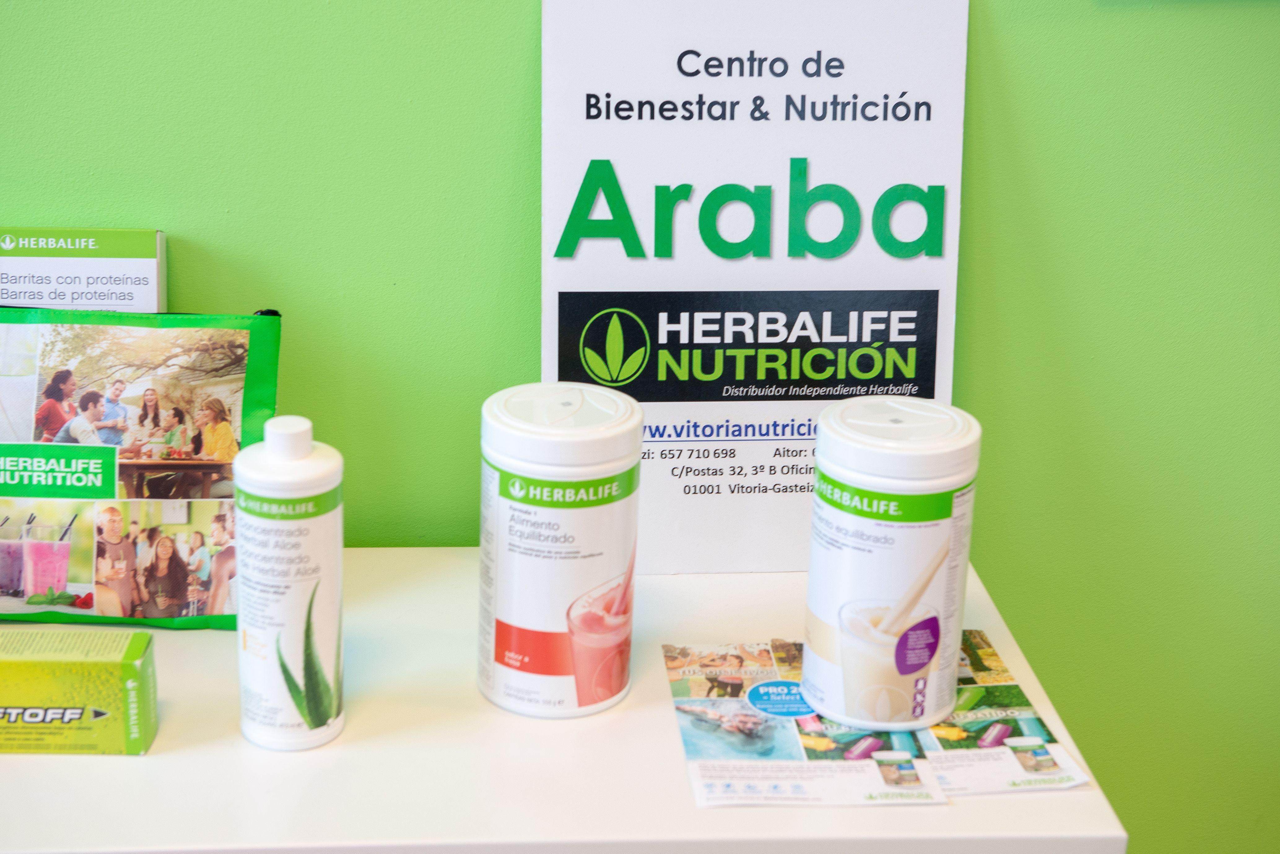 Somos distribuidores oficiales de los productos Herbalife