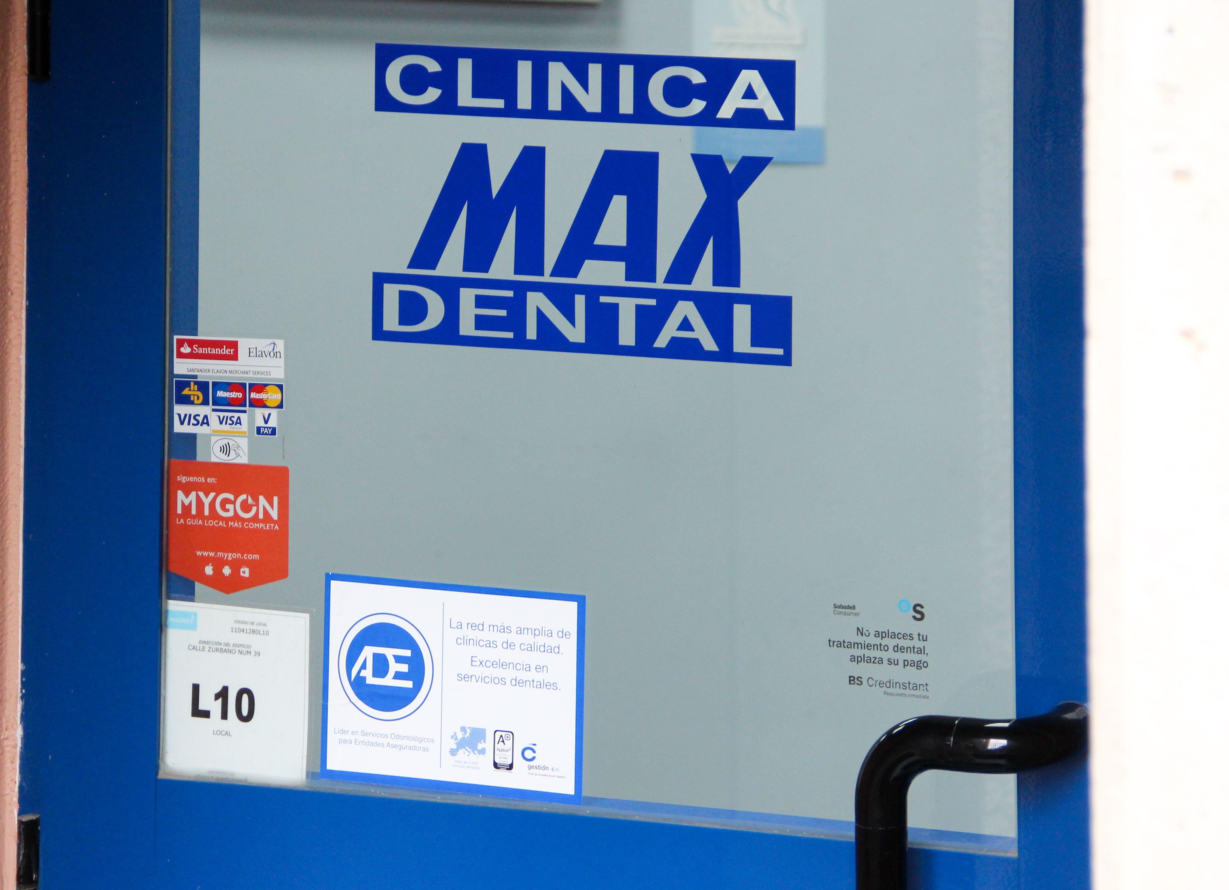 Max Dental es una clínica dental integral de Madrid centro