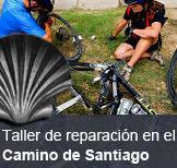 Taller reparación de bicicletas Camino de Santiago