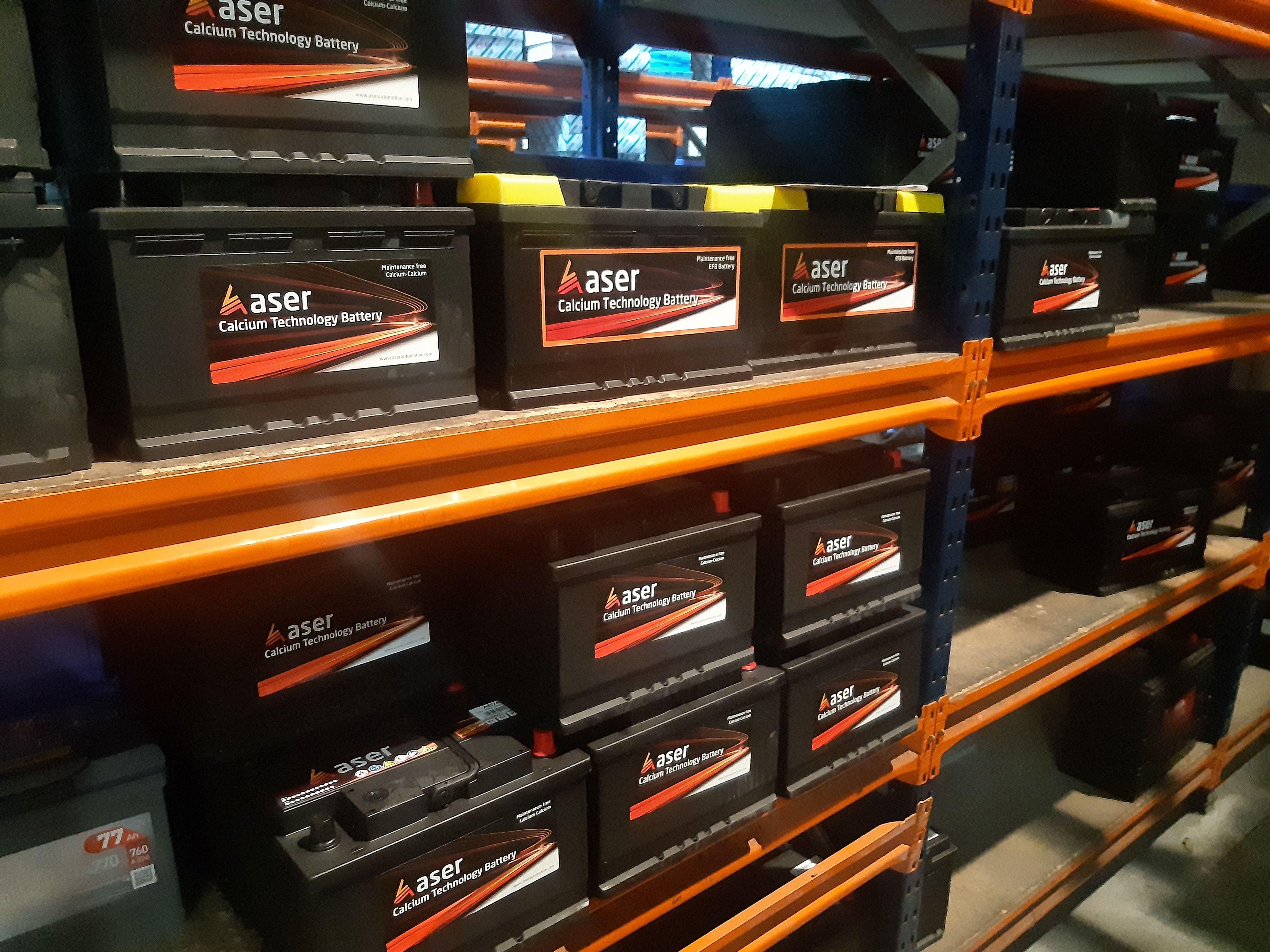 Baterias ASER