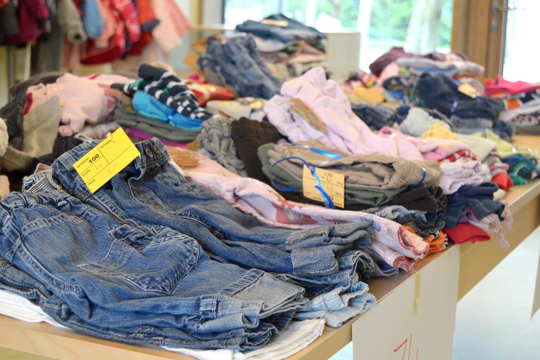 Venta de ropa de segunda mano