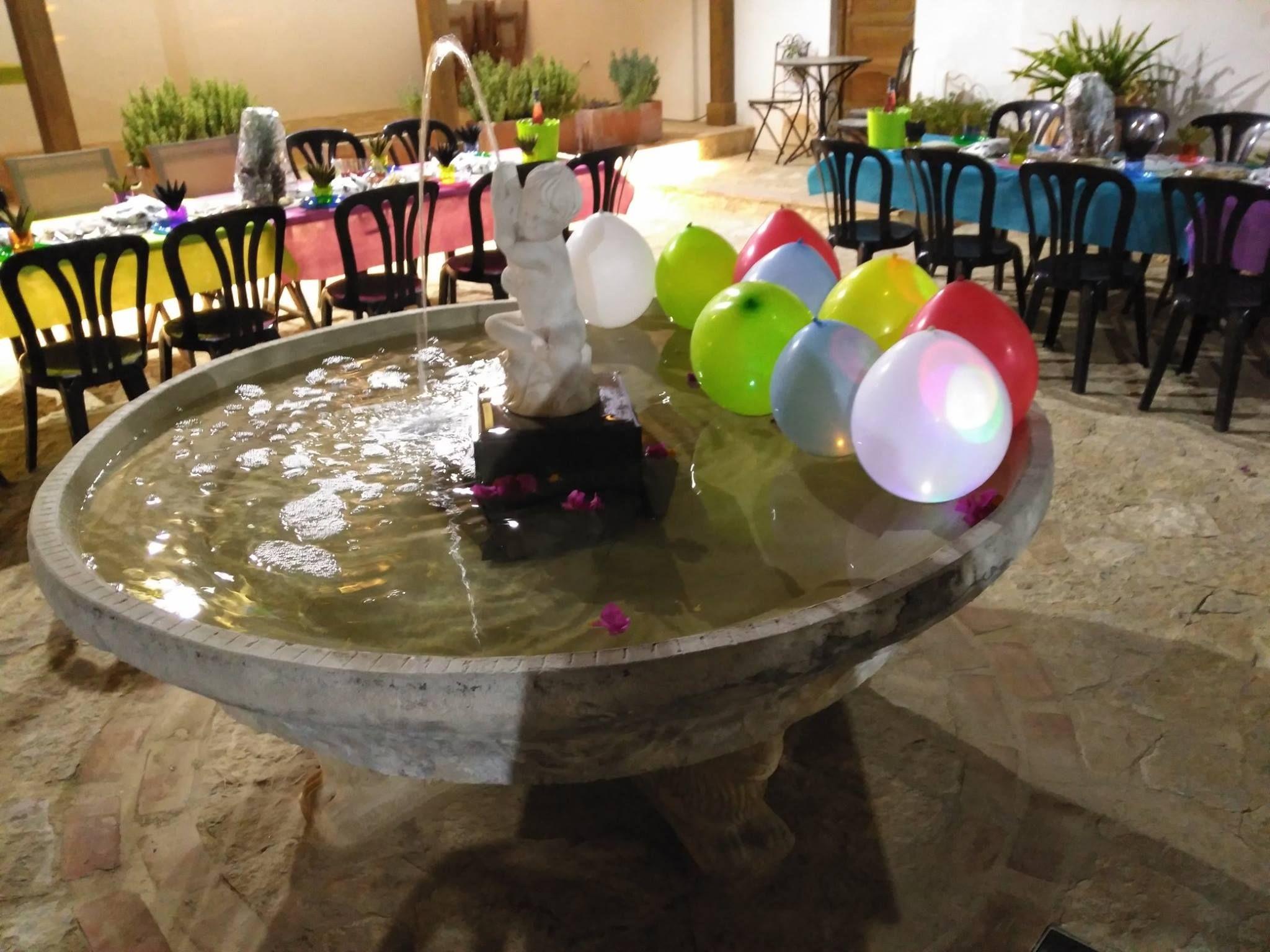 Localización y decoración de espacios para eventos