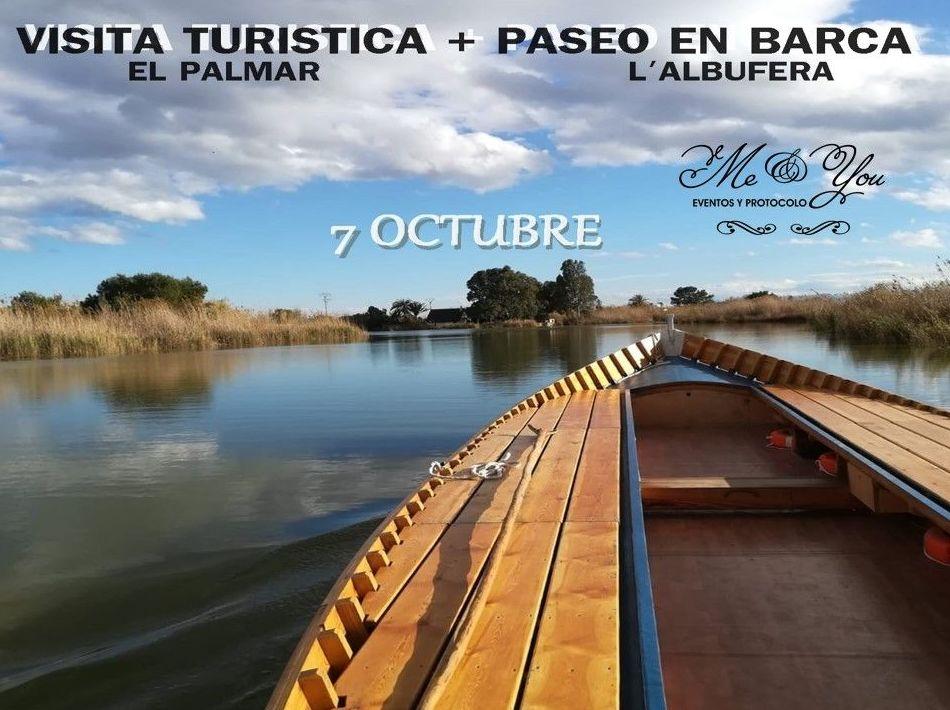 Excursión en barco en L`Albufera de Valencia.