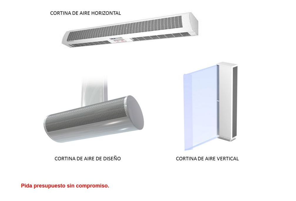 cortinas de aire Torrevieja