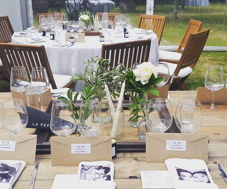 Organización y decoración de bodas personalizadas en A Coruña