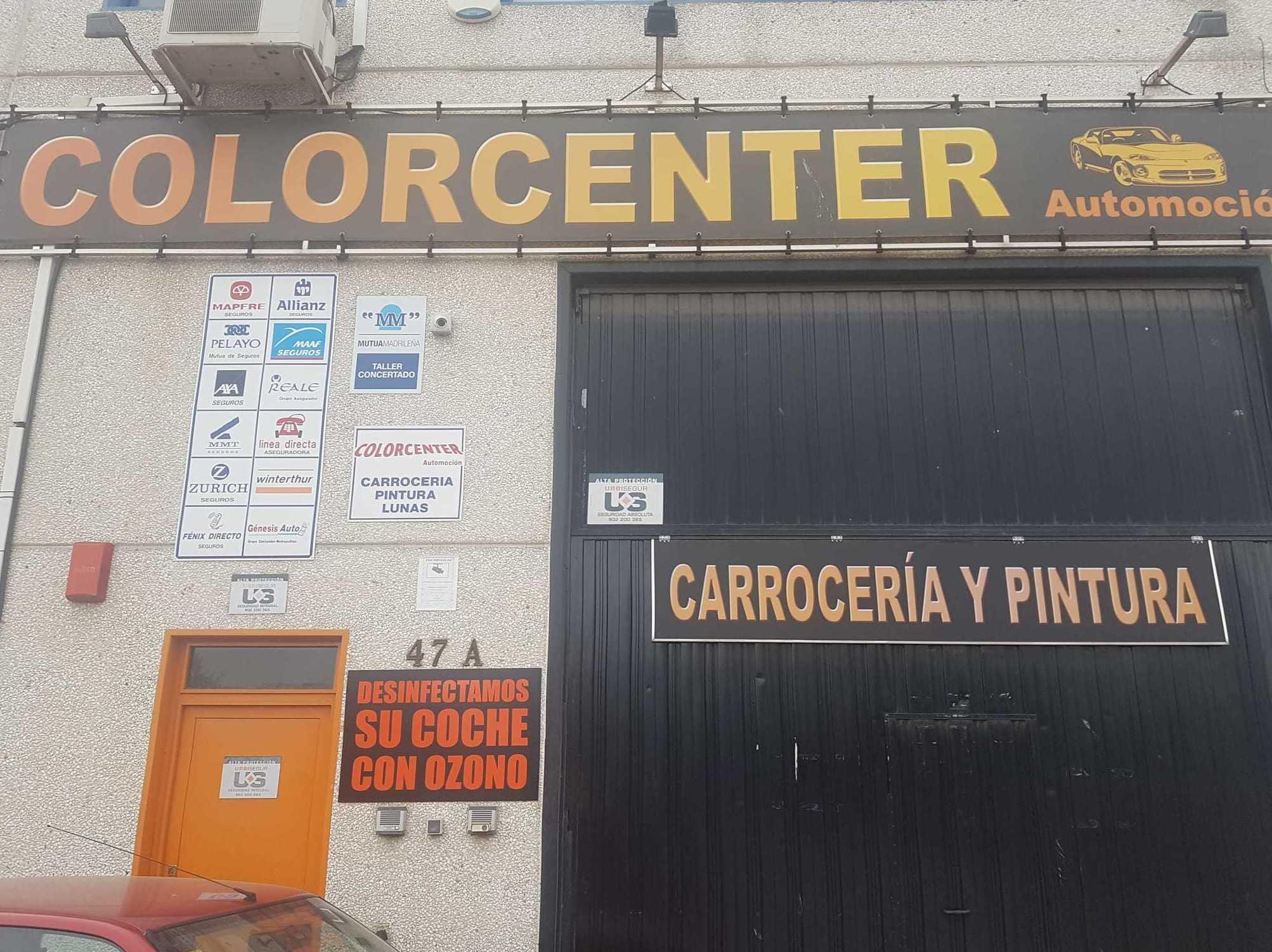 Foto 16 de Talleres de chapa y pintura en Madrid | Colorcenter Automoción
