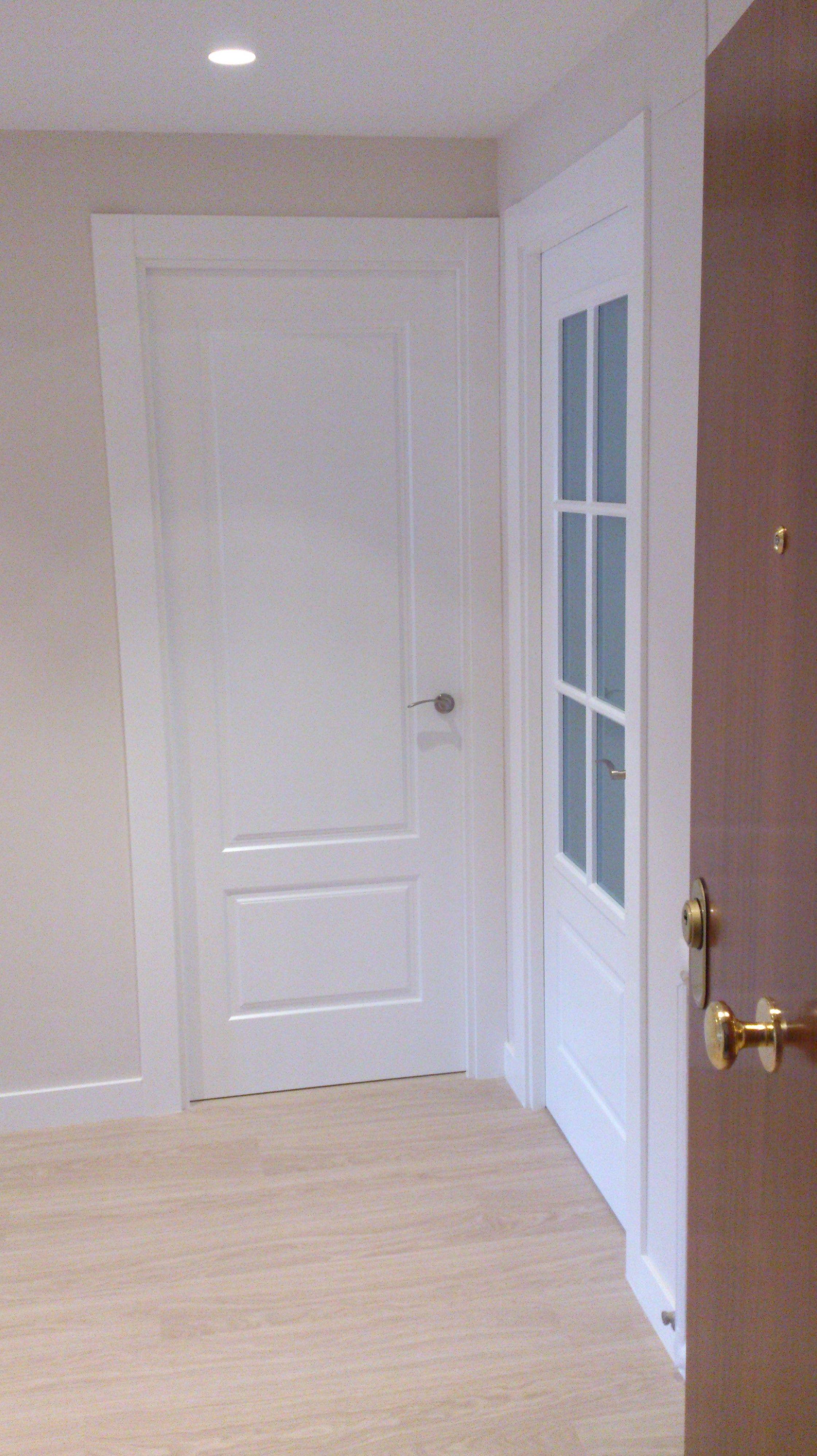 puertas blancas vitoria