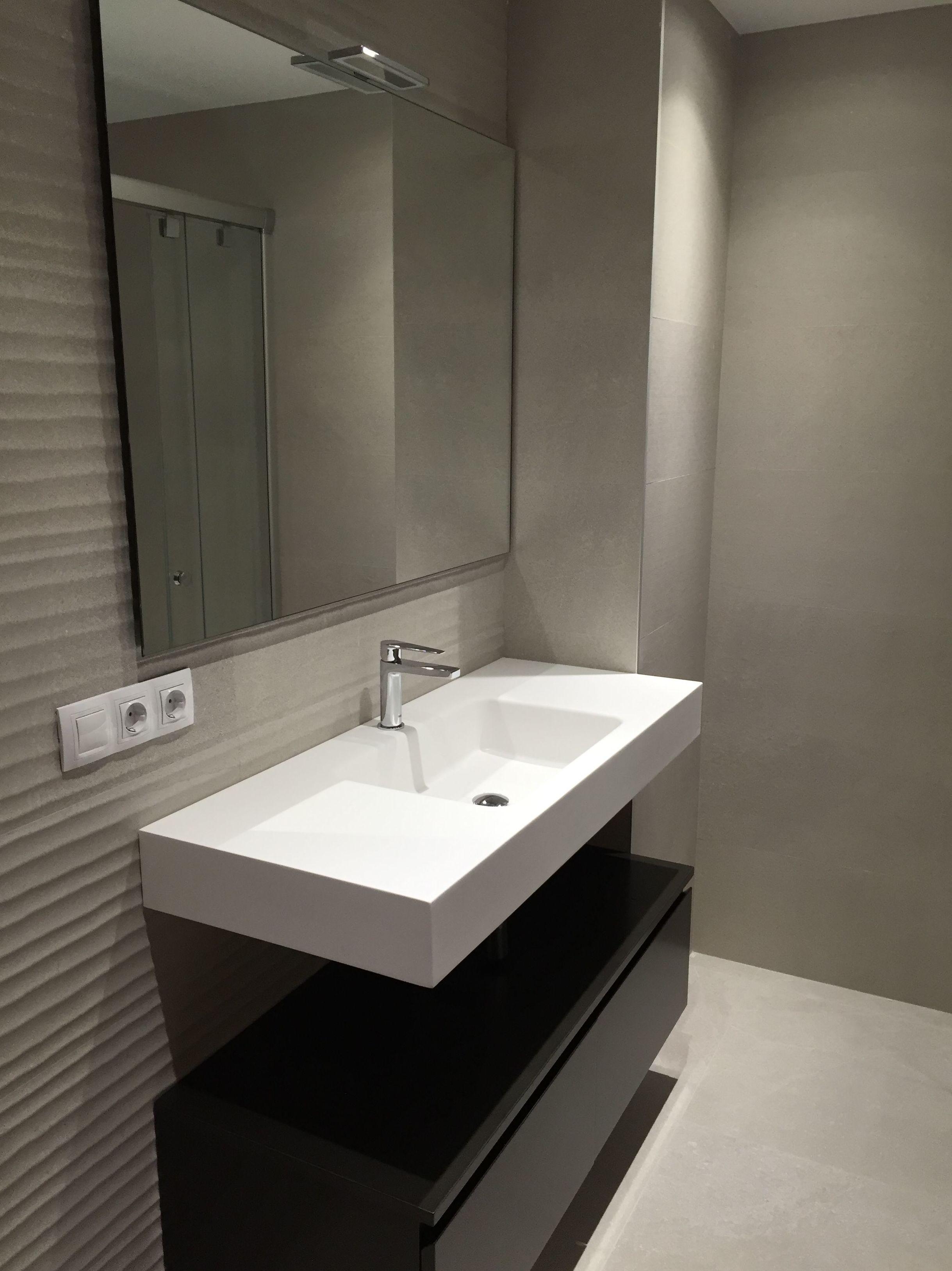 Mueble baño lavabo suspendido