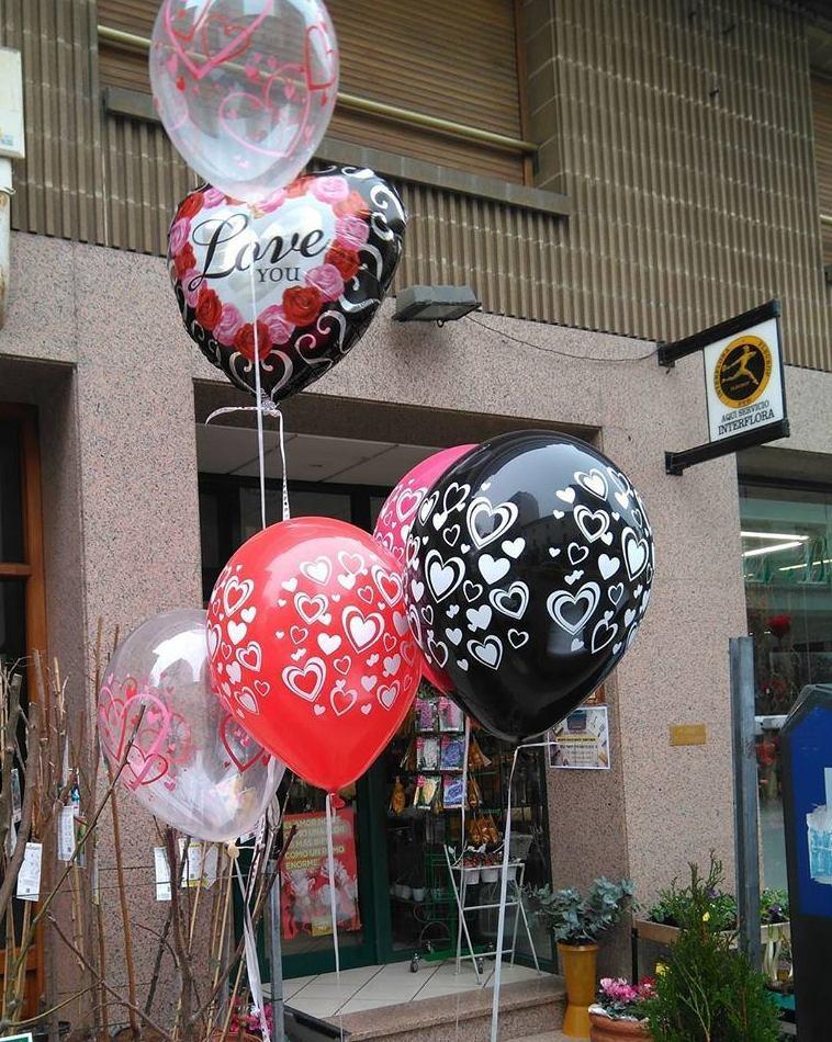 Amor con globos!