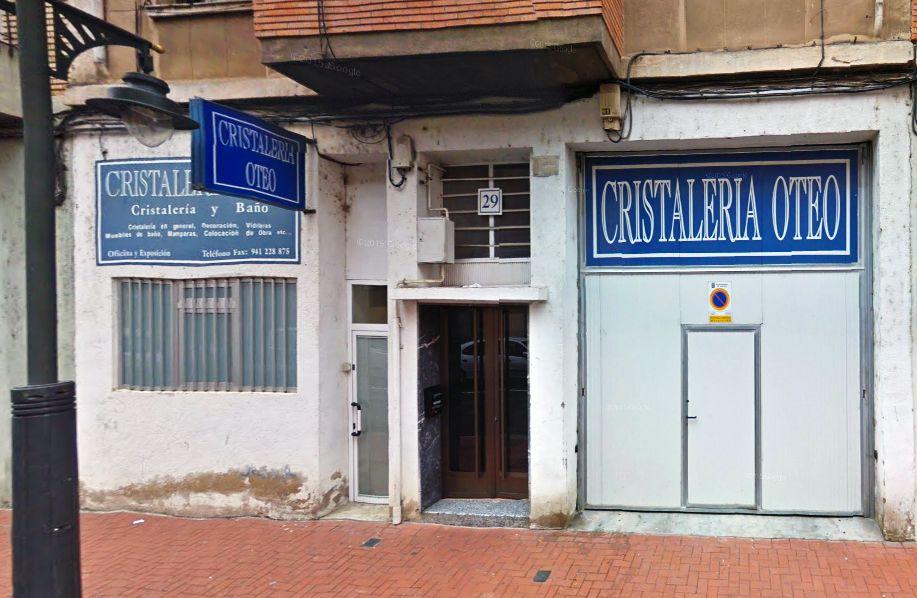 Cristalería en Portugalete, Bizkaia
