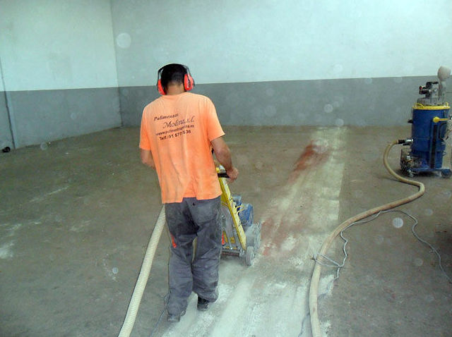Granallado de suelos industriales en Madrid