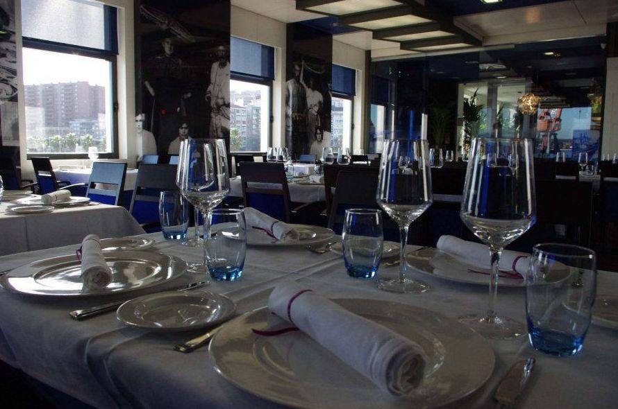 Restaurante en el puerto de Santurce