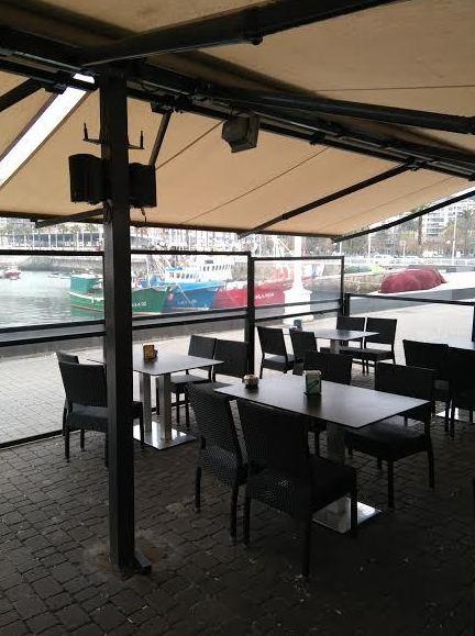 Restaurante con terraza en Santurtzi