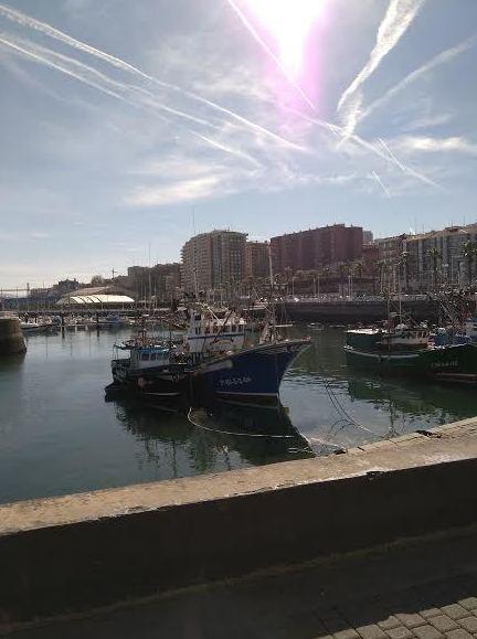 Restaurante en el puerto de Santurtzi