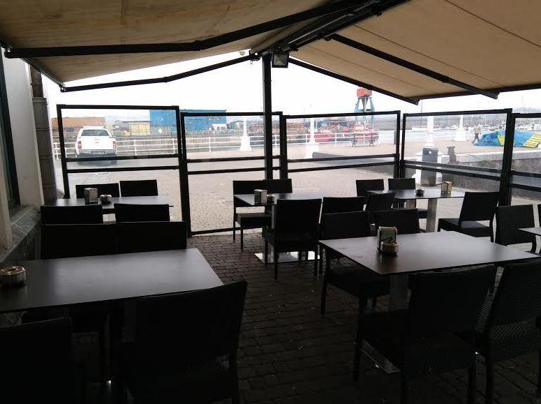 Restaurante con terraza en Santurce