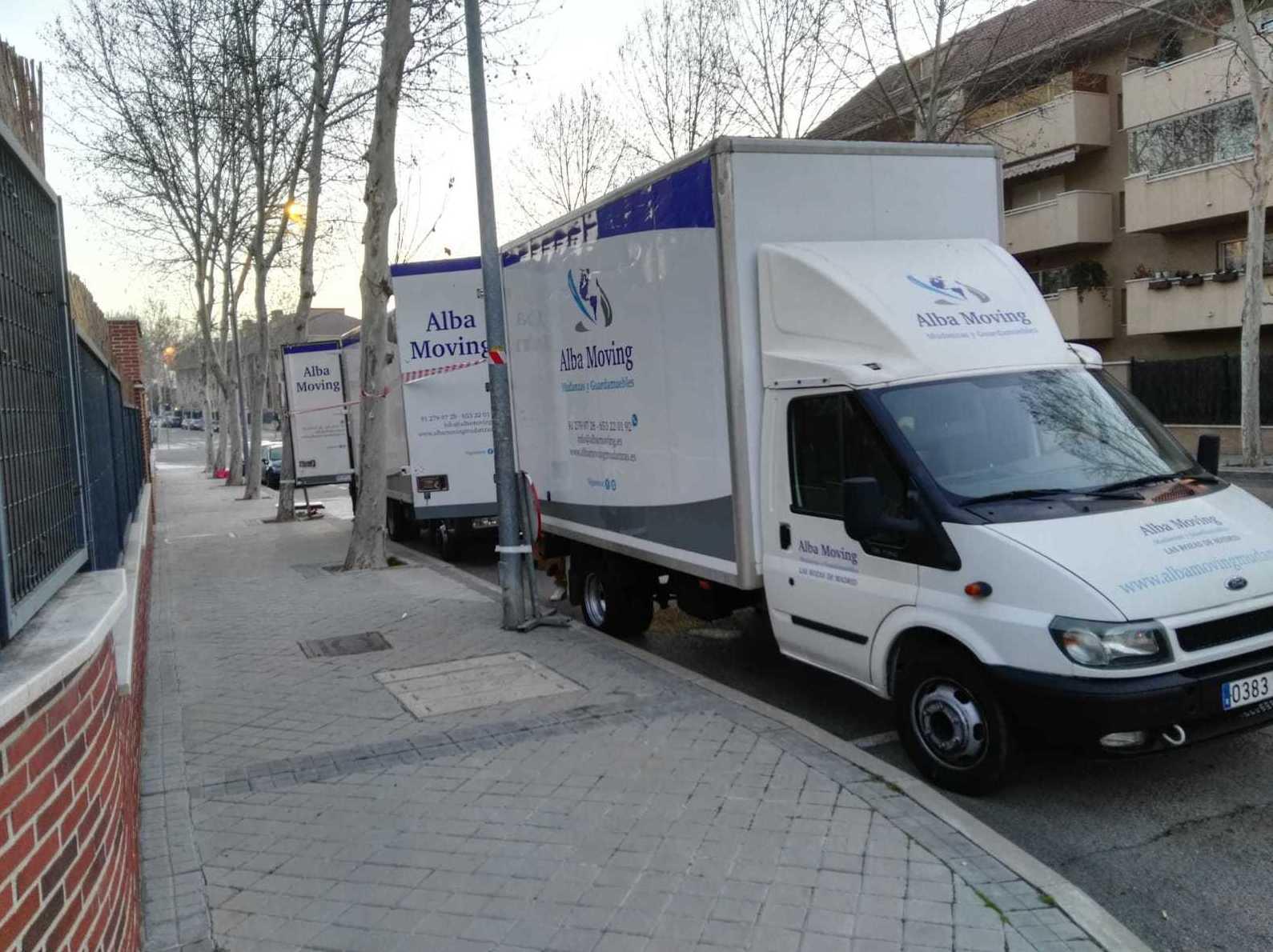 Foto 4 de Mudanzas y guardamuebles en  | Alba Moving Mudanzas y Guardamuebles