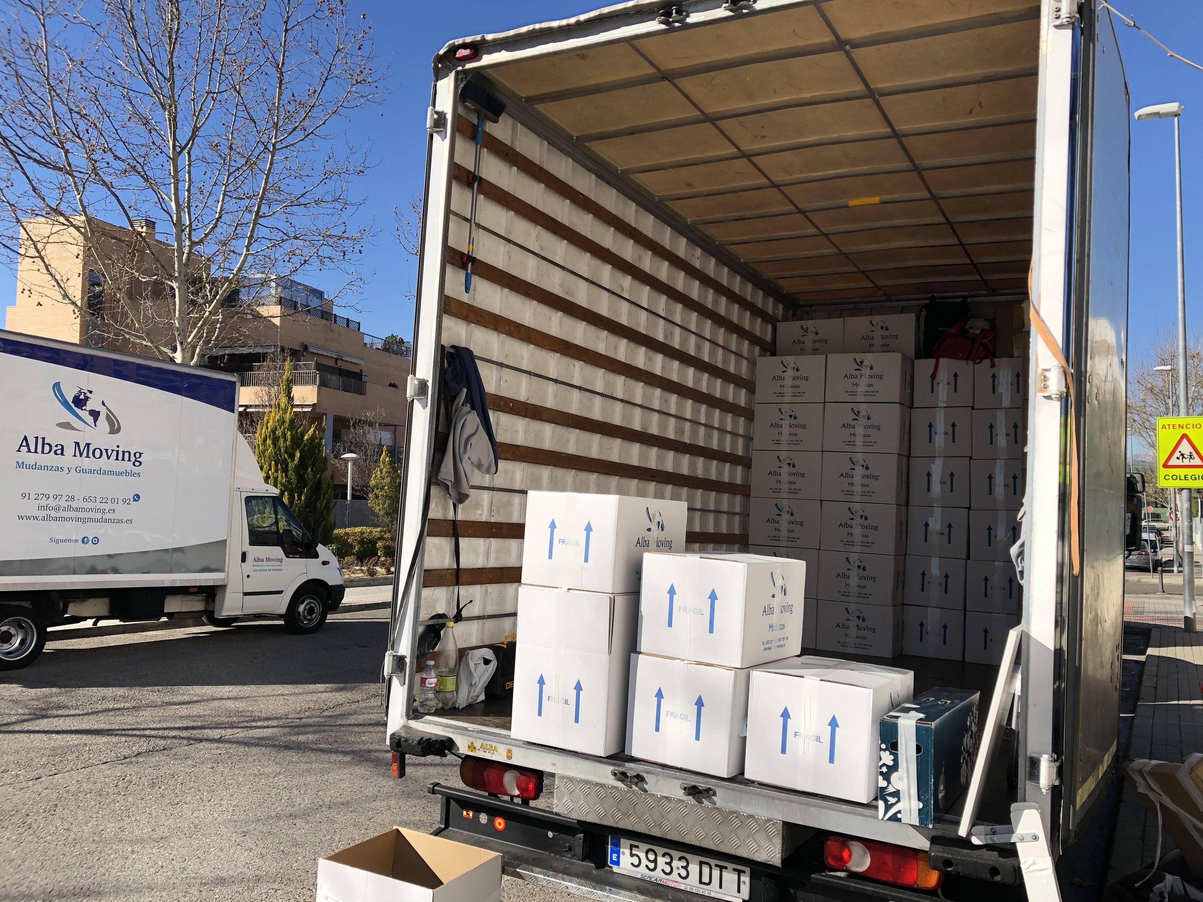 Foto 7 de Mudanzas y guardamuebles en  | Alba Moving Mudanzas y Guardamuebles