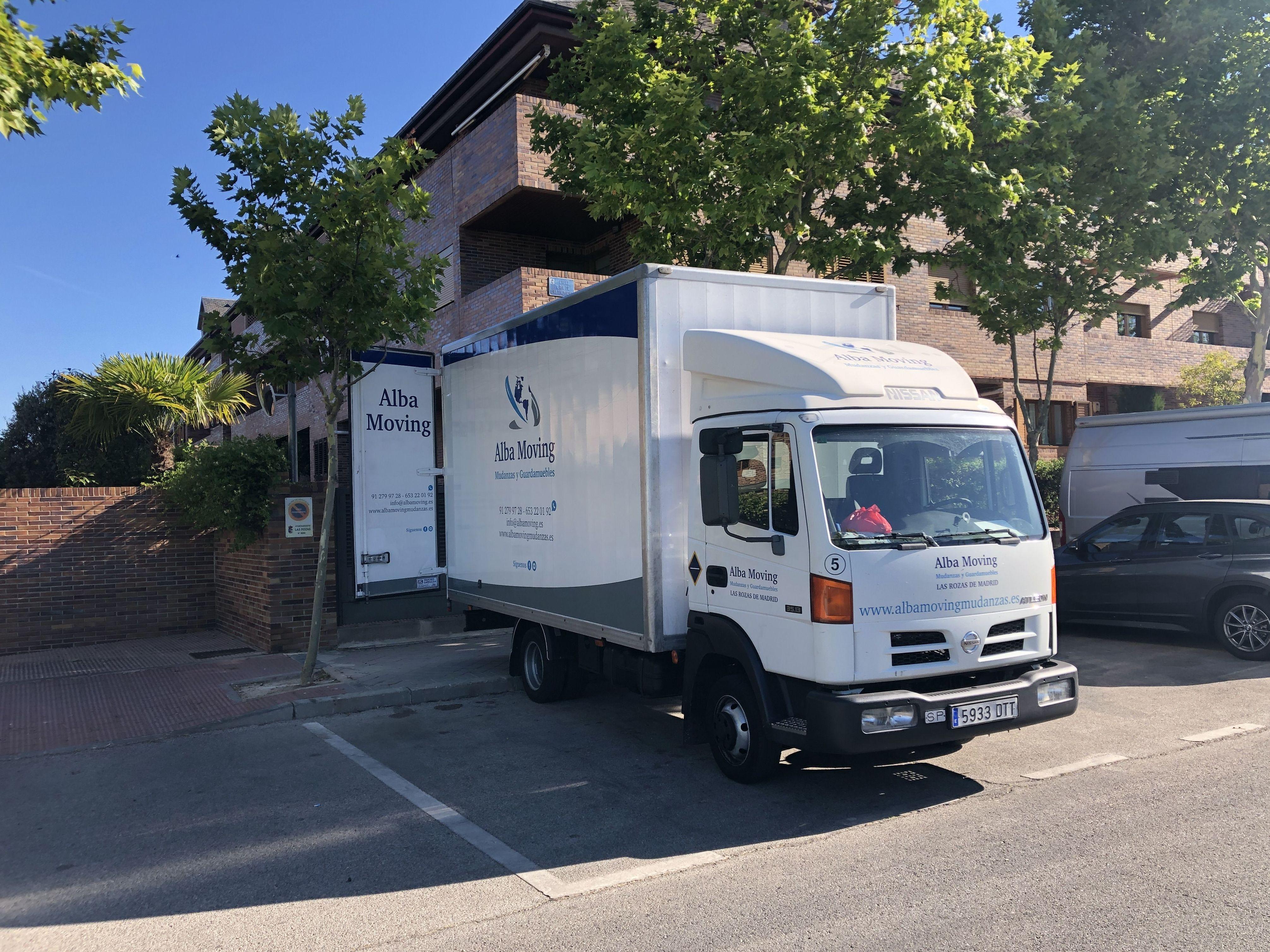 Foto 2 de Mudanzas y guardamuebles en  | Alba Moving Mudanzas y Guardamuebles