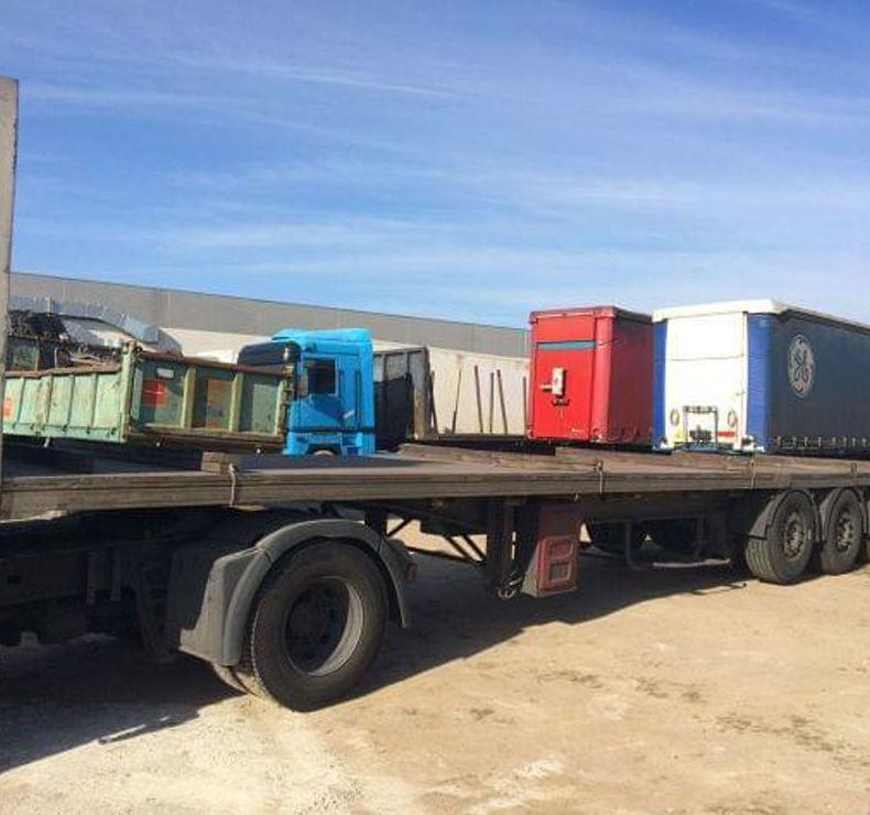 Venta de plataformas para camiones