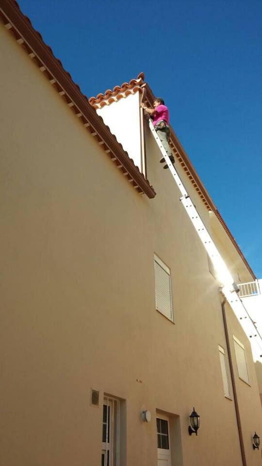 Limpieza de canalones: Servicios de La Casa del Canalón