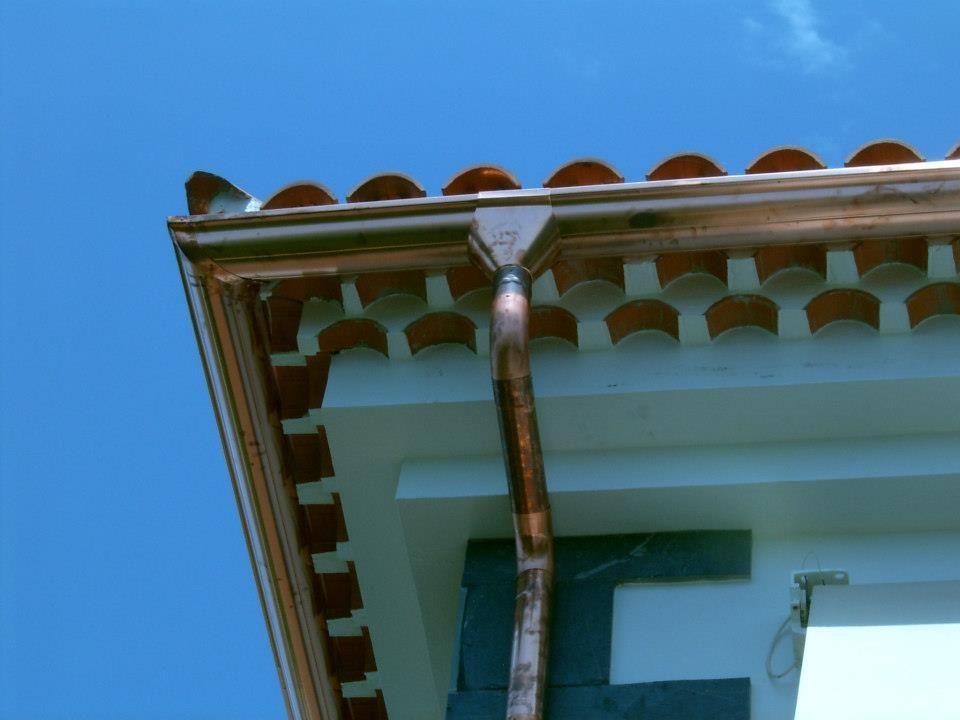 Canalón de cobre: Servicios de La Casa del Canalón