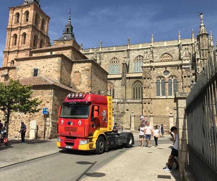 Taller mecánico de camiones en Astorga, León