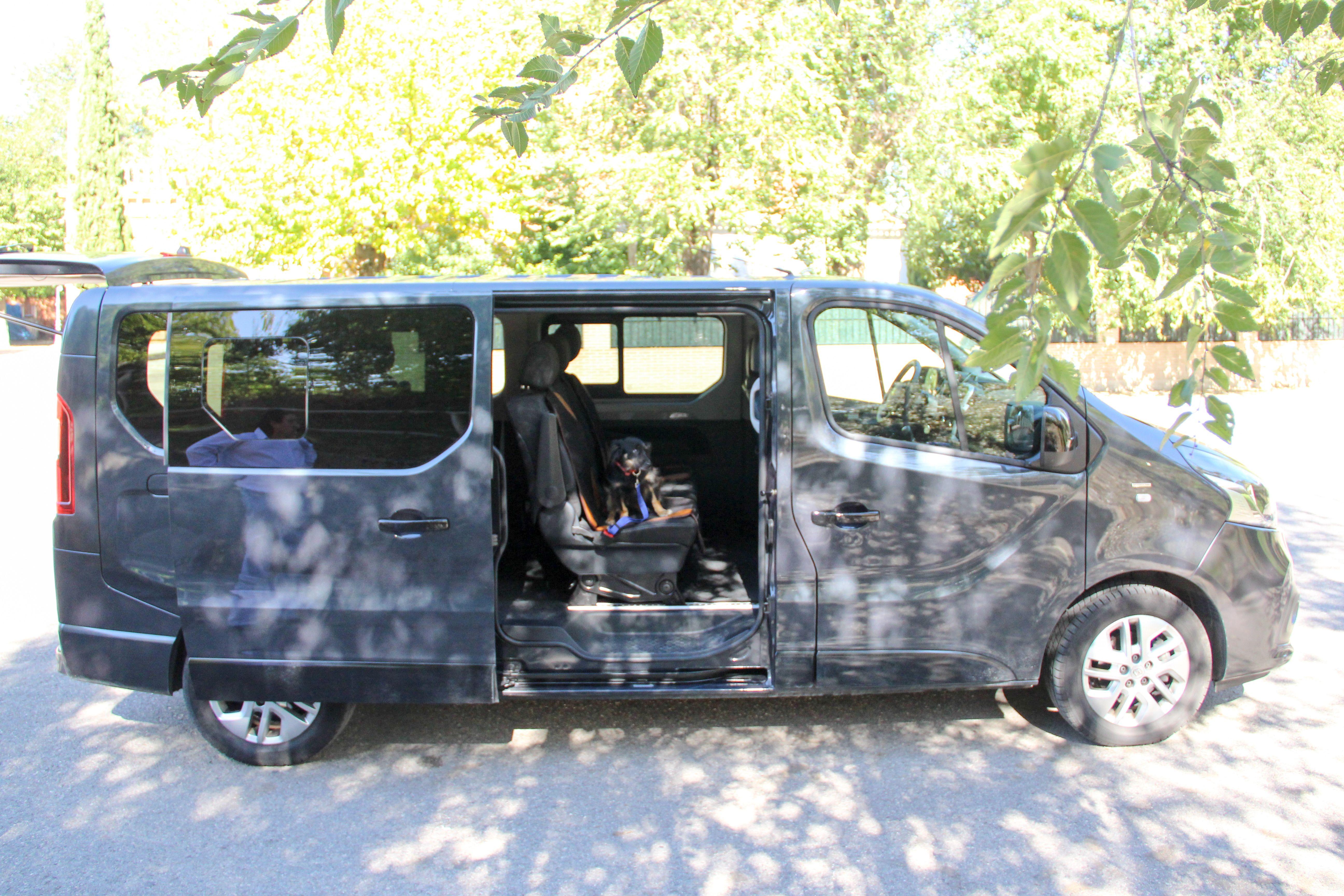 Lateral vehículo Mascotas Entur