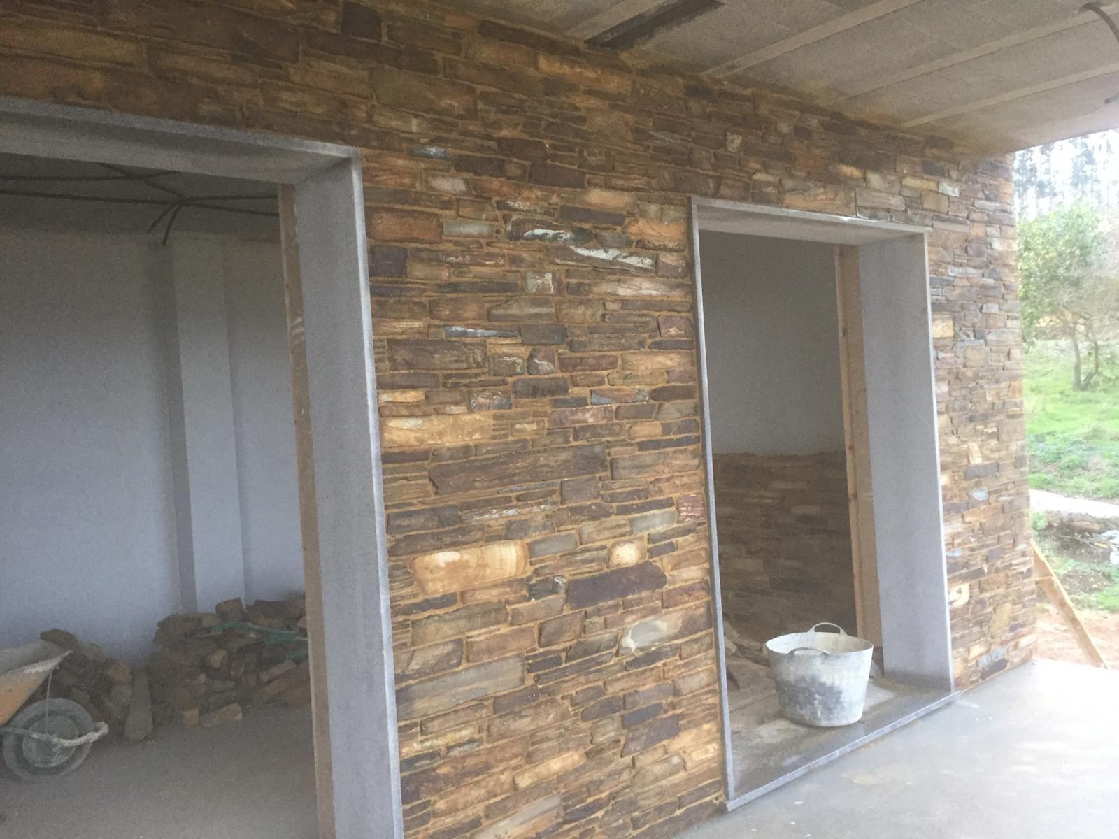 Piedra hecha en Foz - Lugo: Servicios de Colocación de Piedra O Pego