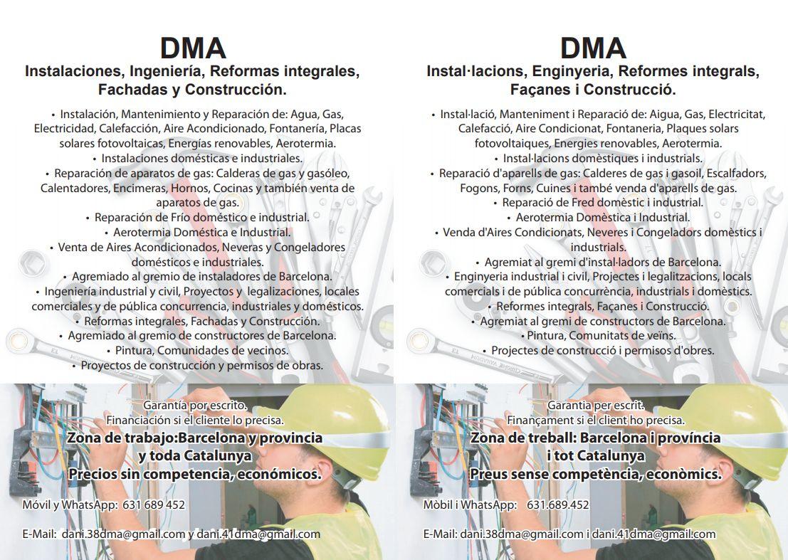 Foto 1 de Reformas integrales en  | DMA Instalaciones y Reformas