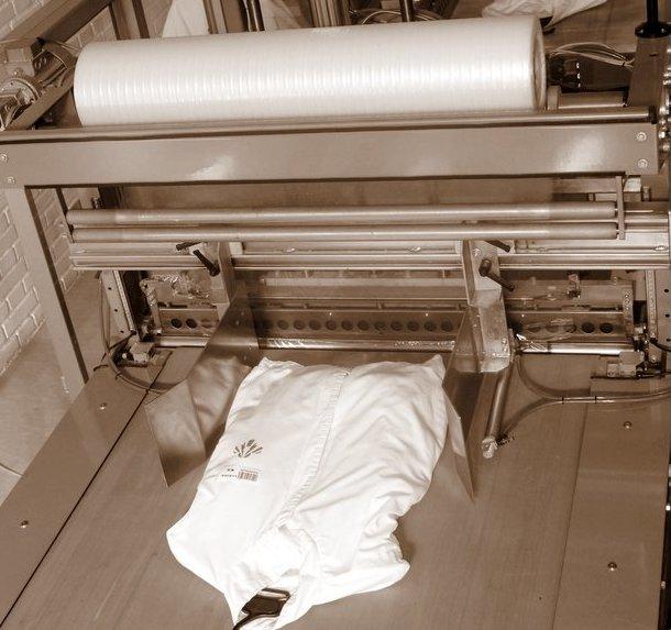 Recogida, entrega y almacenaje del vestuario