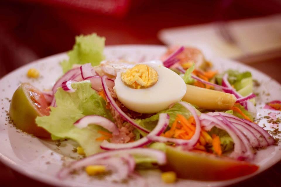 Ensaladas: Nuestra cocina de María de la O