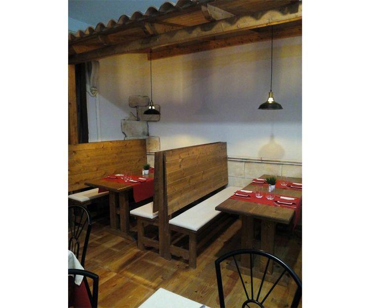 Interior de nuestra pizzería en Massamagrell