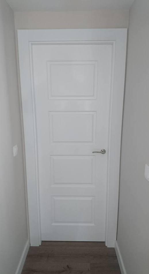 Tendencia en puertas lacadas en blanco