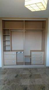 Interior de armario modular