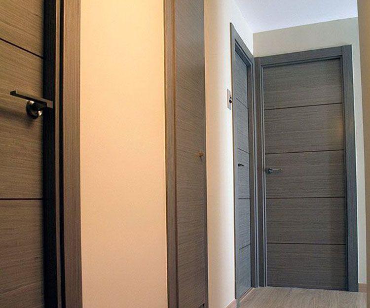 Puertas de madera para vivienda